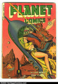 Golden Age (1938-1955):Science Fiction, Planet Comics #65 (Fiction House, 1951) Condition: VG-. Joe Doolincover. Ingels, Elias, and Tuska art. Overstreet 2002 GD 2...