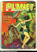 Golden Age (1938-1955):Science Fiction, Planet Comics #67 (Fiction House, 1952) Condition: VG-. Joe Doolin cover. Saaf and Cardy art. Overstreet 2002 GD 2.0 value =...