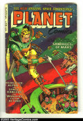 Golden Age (1938-1955):Science Fiction, Planet Comics #71 (Fiction House, 1953) Condition: VG. This has tobe one of the very best cover is a run that was full of g...