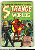 Golden Age (1938-1955):Horror, Strange Worlds #6 (Avon, 1952) Condition: FN-. This pre-codeclassic contains art by some of the very best in the business, ...