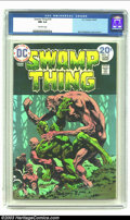 Bronze Age (1970-1979):Horror, Swamp Thing #10 (DC, 1974) CGC NM 9.4 Off-white pages. BerniWrightson cover and art; last Wrightson issue. Overstreet 2002 ...