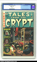 Golden Age (1938-1955):Horror, Tales From the Crypt #27 (EC, 1951) CGC FN/VF 7.0 Off-white pages.Wood, Davis, Ingels and Kamen art. Overstreet 2002 FN 6.0...