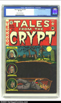 Golden Age (1938-1955):Horror, Tales From the Crypt #28 (EC, 1952) CGC VF 8.0 Cream to off-whitepages. Classic buried alive cover. Davis, Kamen and Ingels...