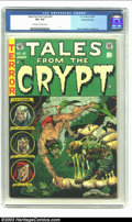 Golden Age (1938-1955):Horror, Tales From the Crypt #40 Gaines File pedigree 7/12 (EC, 1954) CGCVF+ 8.5 Off-white to white pages. Jack Davis renders the u...