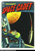 Golden Age (1938-1955):Science Fiction, Tom Corbett Space Cadet lot of Four Color #378(#1) & 421(#3)(Dell, 1952). Two cool, early issues. 2002 Overstreet value for...(Total: 2 Comic Books Item)