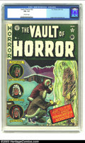 Golden Age (1938-1955):Horror, Vault of Horror #22 (EC, 1951) CGC FN+ 6.5 Off-white pages.Frankenstein cover and adaptation. Ingels, Davis and Kamen artwo...