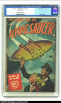 Golden Age (1938-1955):Science Fiction, Vic Torry & His Flying Saucer #nn (Fawcett, 1950) CGC FN- 5.5Cream to off-white pages. Bob Powell art. Overstreet 2002 FN 6...