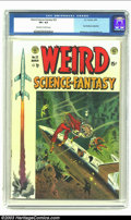 Golden Age (1938-1955):Science Fiction, Weird Science-Fantasy #23 (EC, 1954) CGC VF+ 8.5 Off-white to whitepages. Ray Bradbury adaptation; Williamson and Krigstein...