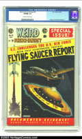 Golden Age (1938-1955):Science Fiction, Weird Science-Fantasy #26 (EC, 1954) CGC VF/NM 9.0 Off-white towhite pages. Flying Saucer Report; atom bomb panels; Wood, C...