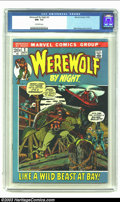 Bronze Age (1970-1979):Horror, Werewolf by Night #2 (Marvel, 1972) CGC NM- 9.2 Off-white pages.Mike Ploog cover and art. Overstreet 2002 NM 9.4 value = $4...