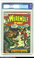 Bronze Age (1970-1979):Horror, Werewolf by Night #4 (Marvel, 1973) CGC NM+ 9.6 Off-white to whitepages. Mike Ploog cover and art. Overstreet 2002 NM 9.4 v...