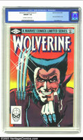 Modern Age (1980-Present):Superhero, Wolverine Limited #1 (Marvel, 1982) CGC NM/MT 9.8 Off-white towhite pages. First solo Wolverine comic; Frank Miller art. Ov...