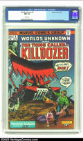 Bronze Age (1970-1979):Horror, Worlds Unknown #6 (Marvel, 1974) CGC NM 9.4 White pages. Gil Kanecover, Dick Ayers art. Overstreet 2002 NM 9.4 value = $12....