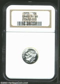Proof Roosevelt Dimes: , 1955 PR 68 Cameo NGC. ...