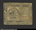 Colonial Notes:Continental Congress Issues, July 22, 1776, $5, Continental Congress Issue, CC-42, VF. ...