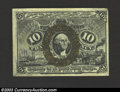 Fractional Currency:Second Issue, Second Issue 10c, Fr-1249, CU. This is a very scarce fiber ...