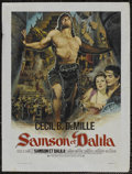 "Movie Posters:Adventure, Samson and Delilah (Paramount, R-1960s). Belgian (17"" X 22.5"").Adventure...."