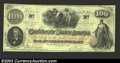 Confederate Notes:1862 Issues, Trans-Mississippi 1862 $100 J.C. Calhoun on left; Slaves ...