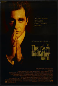 "The Godfather Part III (Paramount, 1990). One Sheet (27"" X 40"") DS. Crime"