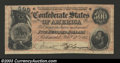 Confederate Notes:1864 Issues, 1864 $500 Equestrian Statue of Washington Confederate Flag on ...