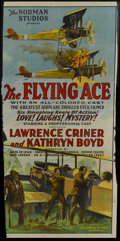 """Movie Posters:Black Films, The Flying Ace (Norman, 1926). Three Sheet (39"""" X 81""""). BlackFilms...."""