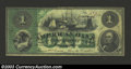 Obsoletes By State:Maryland, 1863 $1 American Bank, Baltimore, MD, G2a, Very Fine. A nice ...