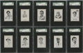 Baseball Cards:Sets, 1950-56 Callahan W576 Baseball Complete Set w/o Chandler (81). Offered is a 1950-56 W576 Callahan set in high grade. Present...