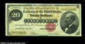 Large Size:Gold Certificates, Fr. 1178 $20 1882 Gold Certificate Choice About New. This ...
