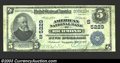 National Bank Notes:Virginia, Richmond, VA - $5 1902 Plain Back Fr. 606 American ...