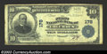 National Bank Notes:Wisconsin, Columbus, WI - $10 1902 Plain Back Fr. 624 First NB of ...