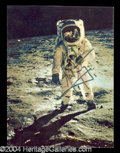Autographs, Neil Armstrong Signed Apollo 11 Postcard
