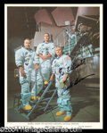 Autographs, Frank Borman Signed NASA Photograph