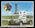 Autographs, Gene Cernan Signed NASA Photograph