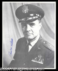 Autographs, Paul Tibbets Signed Photo In Uniform