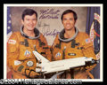 Autographs, STS-1: John Young & Bob Crippen Signed NASA Photo