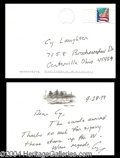 Autographs, George Bush Signed Handwritten Letter