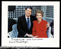 Autographs, Ronald & Nancy Reagan Gorgeous Signed Photo