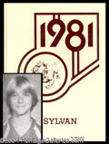 Autographs, Kurt Cobain 1981 High School Yearbook