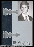 Autographs, Harry Connick Jr. 1982 High School Yearbook