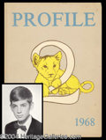 Autographs, David Duke High School Yearbook as Senior