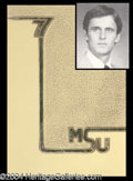 Autographs, John Grisham Rare College Yearbook