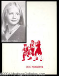 Autographs, Charlene Tilton High School Yearbook