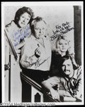 Autographs, All In The Family Cast Signed Photograph
