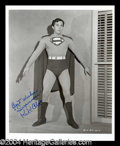 Autographs, Kirk Alyn Signed Superman Photo