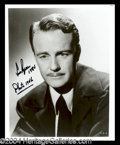 Autographs, Lew Ayres Signed Photo