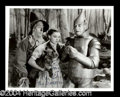 Autographs, Ray Bolger Signed Photo as Scarecrow