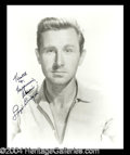 Autographs, Lloyd Bridges Signed Photo