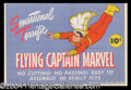 Autographs, Captain Marvel Original 1944 Paper Doll