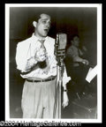 Autographs, Perry Como Early Signed Photo