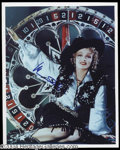 Autographs, Marlene Dietrich Western Signed Photo